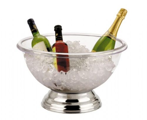 Clear Champagne Punch Bowl